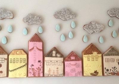 ciasteczka domki