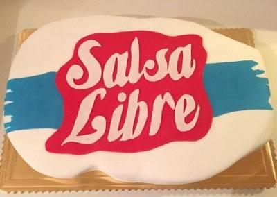 tort dla firmy salsa libre