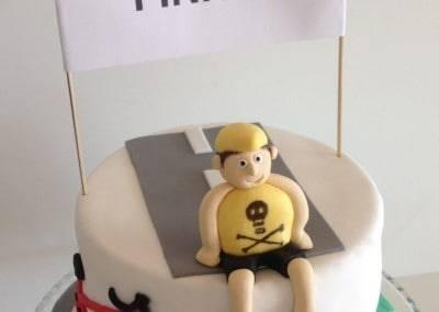 tort dla rowerzysty