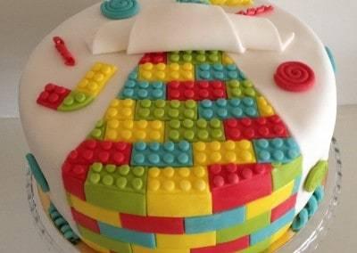 tort okrągły lego