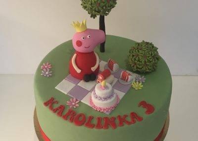 tort świnka pepa
