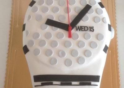 tort zegarek swatch