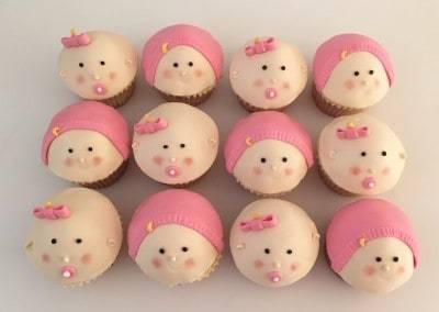 muffinki na chrzciny bobasy