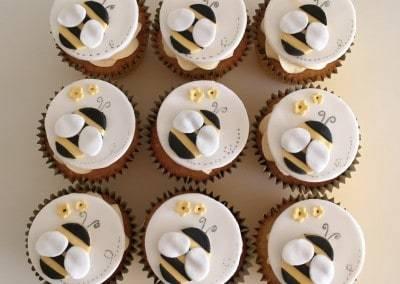 muffinki pszczółki