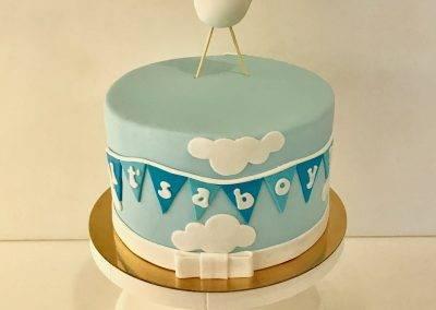 tort na chrziny dla chłopca