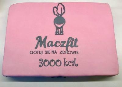 tort firmowy maczfit