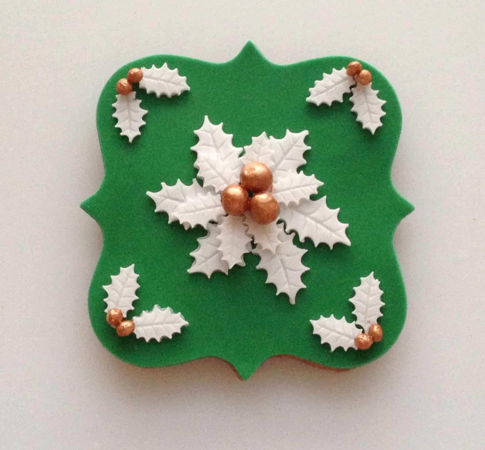 pierniki świąteczne zielone