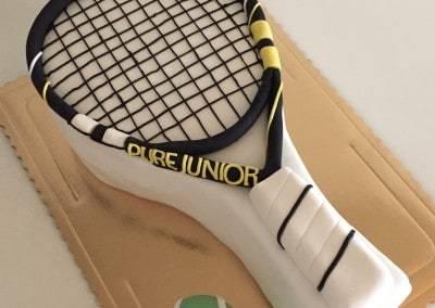 tort 3d rakieta do tenisa