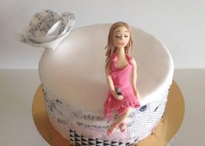 tort dla wokalistki