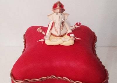 tort indyjski Ganeśa