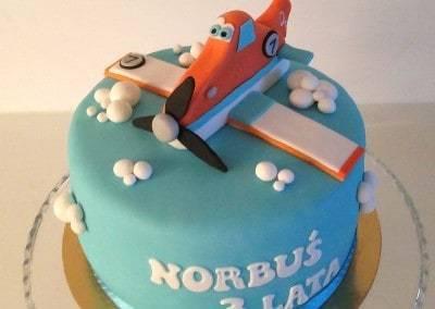 tort samolot dusty