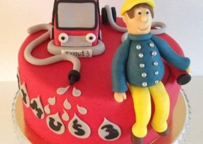 tort strażak sam
