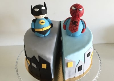 tort batman spiderman
