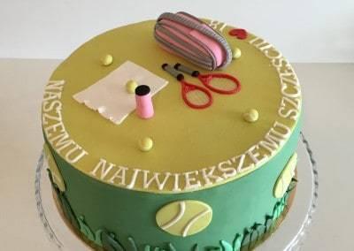 tort dla tenisisty