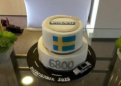 tort firmowy volvo