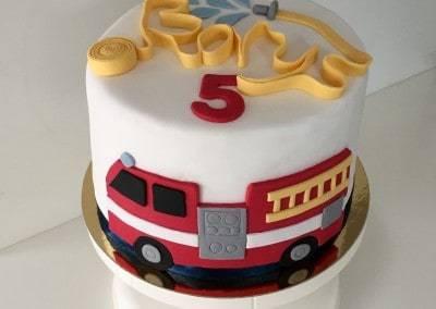 tort wóz strażacki