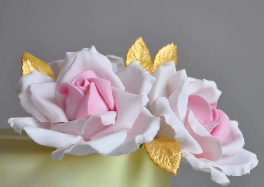 roze tort