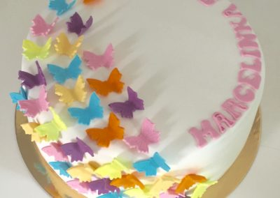 tort motylki