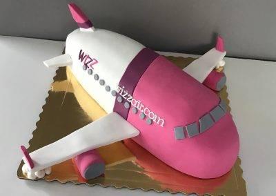 tort samolot wizzair
