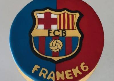 tort fcb barcelona