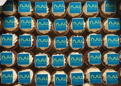 muffinki z logo nju mobile