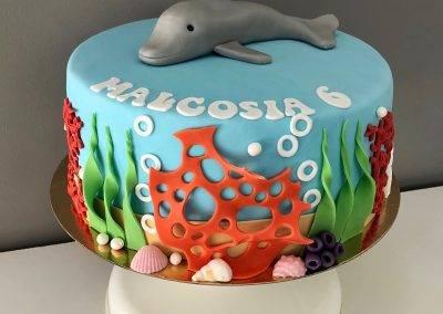 tort delfin