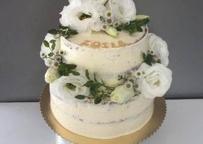 tort naked na chrzciny