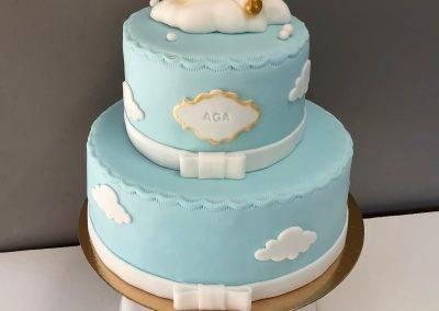 tort z jednorozcem