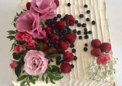 tort naked kwadratowy