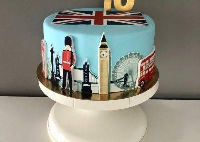tort urodzinowy londyn