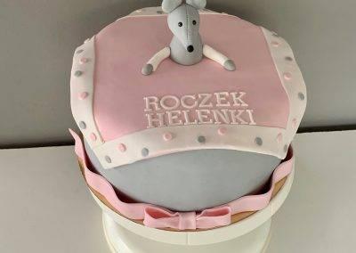 tort na roczek myszka