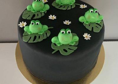 tort zabki