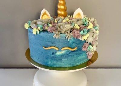 tort jednorozec dla chlopca