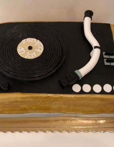 tort gramofon