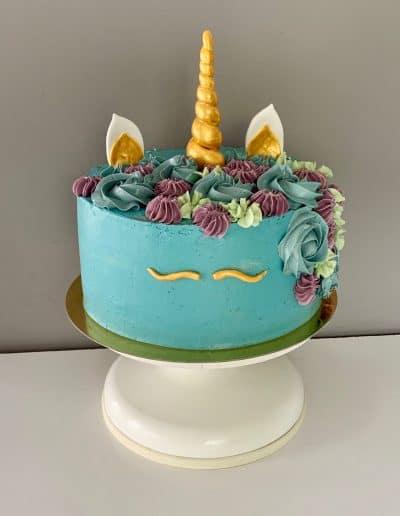 tort jednorozec blekitny