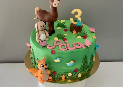 tort konik las