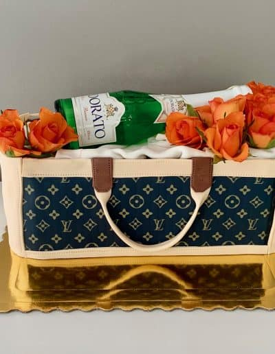 tort torebka louis viton szampan