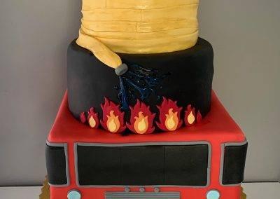 tort dla strażaka