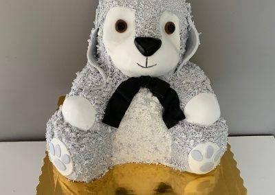 tort 3d zajac