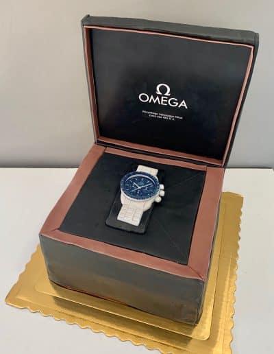 tort zegarek omega