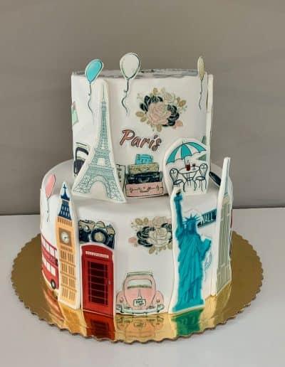 tort dla podrozniczki