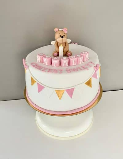 tort na chrzciny i roczek