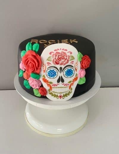 tort czaszka