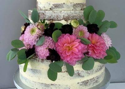 tort naked z daliami