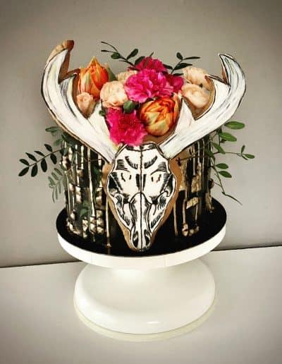 tort urodzinowy jelen poroze