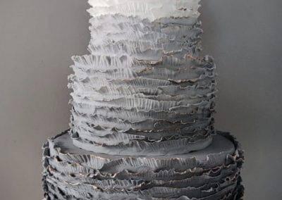 tort falbankowy szary