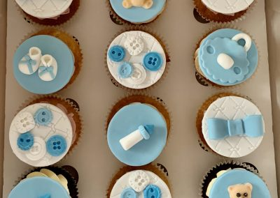 muffinki na baby shower