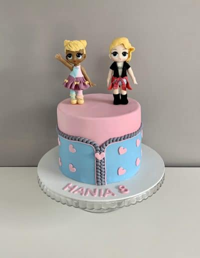 tort lol dla dziewczynki