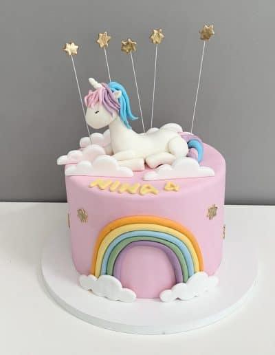 tort jednorozec