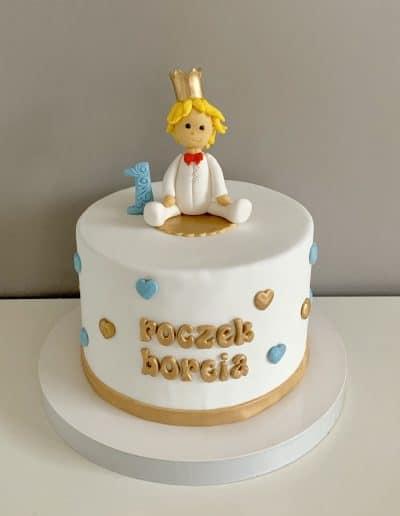 tort na roczek ksiaze